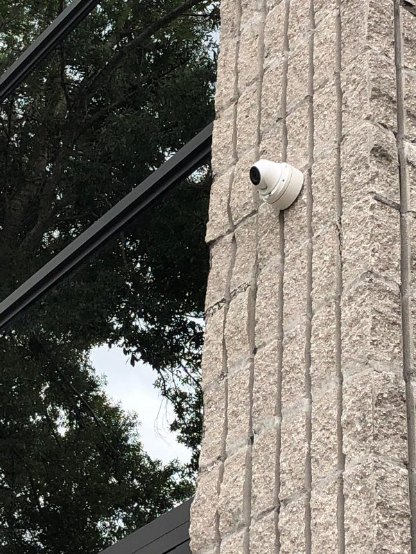 Dome Camera external installation