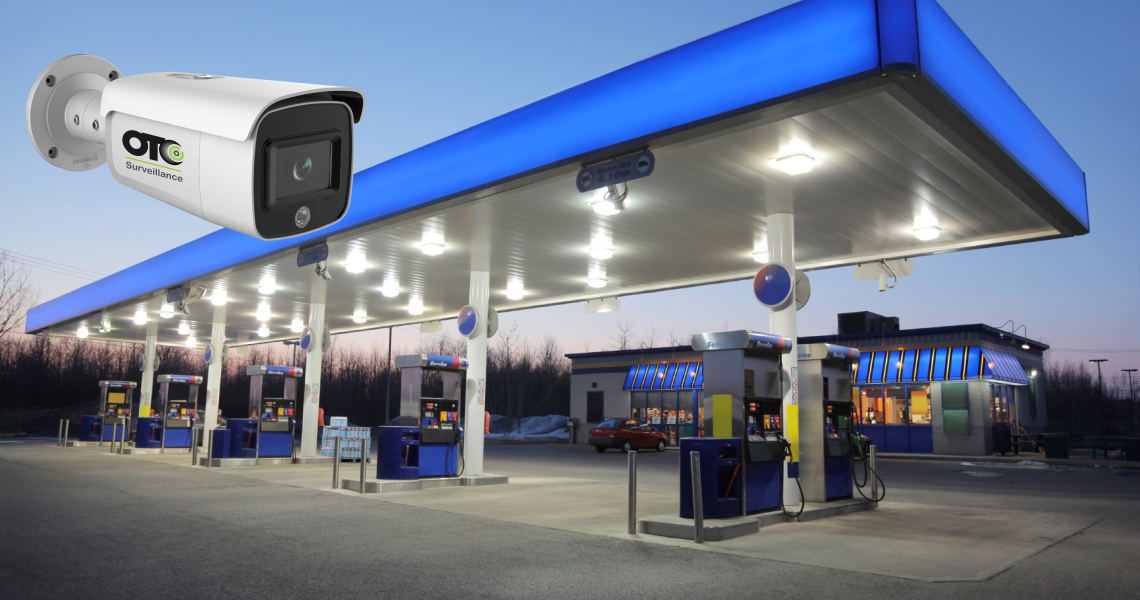 Security Cameras for Gas stations and Convenience Stores