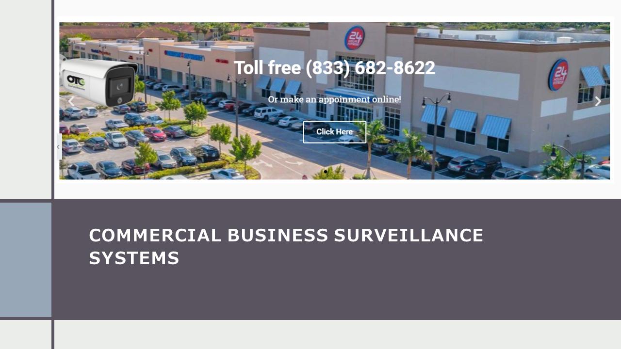 Commercial Business Surveillance System