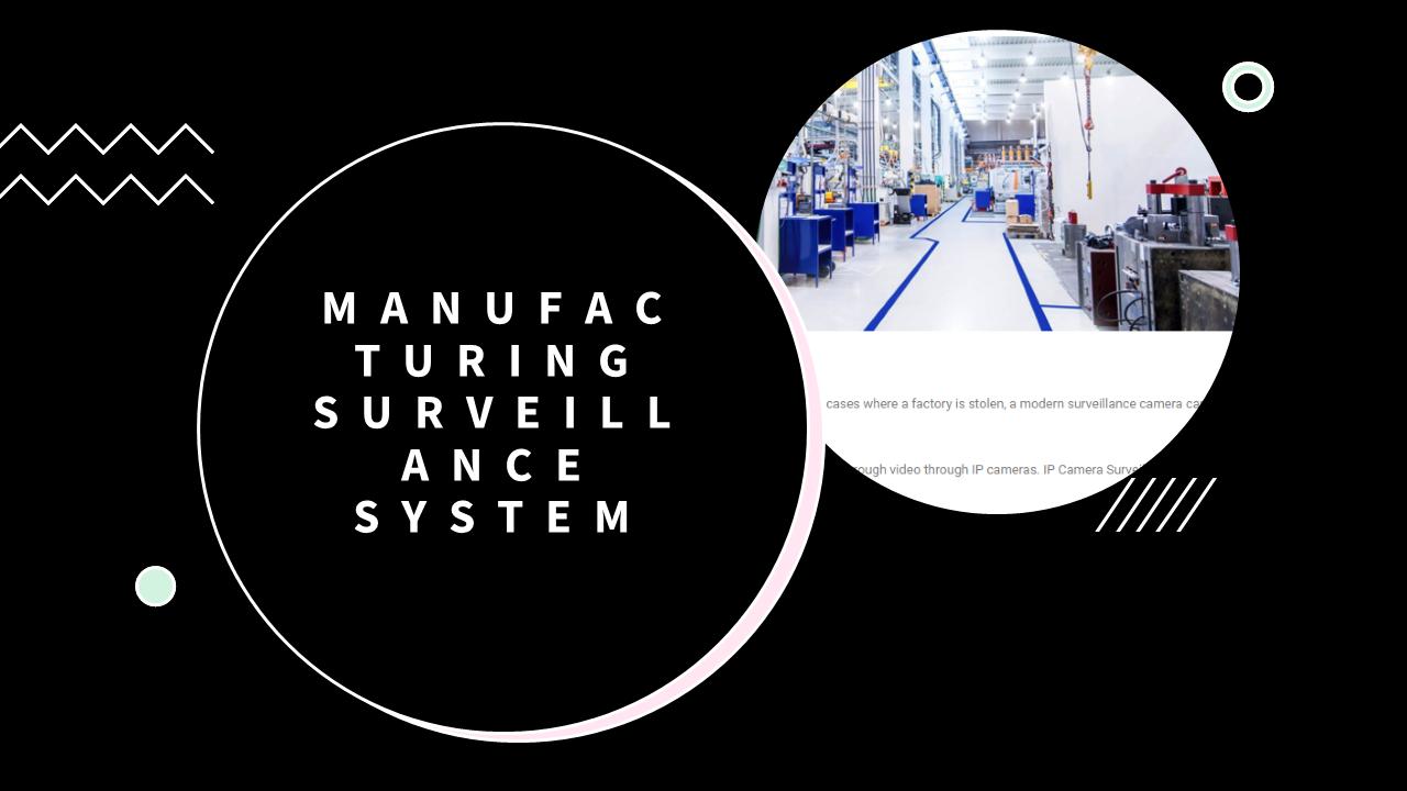 Manufacturing Surveillance System