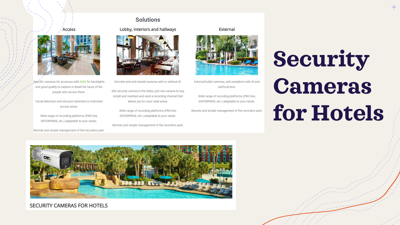 Security Cameras for Hotels